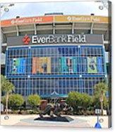 Jacksonville Jaguars Stadium Acrylic Print