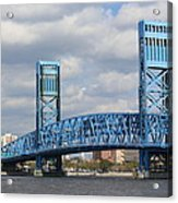 Jacksonville Main Street Bridge Acrylic Print