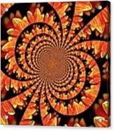 Jagged Petals Acrylic Print