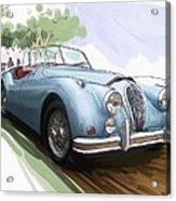 Jaguar X K 140 Acrylic Print