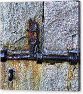 Jail Bolt Acrylic Print