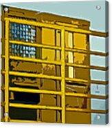 Jail Cell Acrylic Print