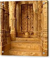 Jaisalmer Palace Acrylic Print
