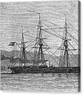 Jamaica: Css Alabama, 1863 Acrylic Print