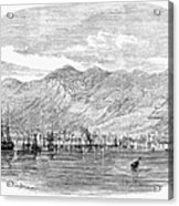 Jamaica: Kingston, 1865 Acrylic Print by Granger