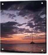 Jamaican Sunset Acrylic Print