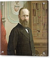 James A. Garfield, 20th American Acrylic Print