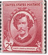 James A. Mcneill Whistler Acrylic Print