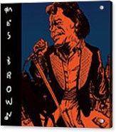 James Brown Acrylic Print