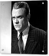 James Cagney, Portrait, 1950s Acrylic Print by Everett