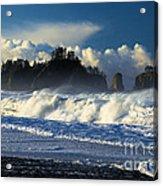 James Island Surf Acrylic Print