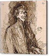 James Mcneill Whistler 1834-1903 Acrylic Print