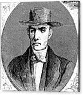 James Mott (1788-1868) Acrylic Print