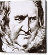 James Young Simpson, Scottish Physician Acrylic Print