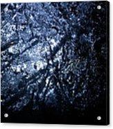 Jammer Blue Hematite 001 Acrylic Print