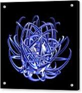 Jammer Blue Star 001 Acrylic Print