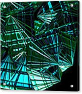 Jammer Swirling Emeralds  Acrylic Print