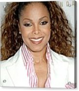 Janet Jackson At Arrivals For 19th Acrylic Print