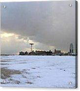 January - Coney Island Acrylic Print