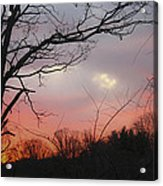 January Sunrise 1 Acrylic Print