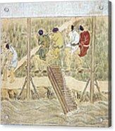 Japan: Irrigation, C1575 Acrylic Print