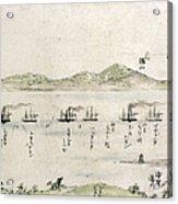 Japan: Matthew Perry, 1854 Acrylic Print