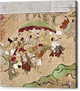 Japan: Peasants, C1575 Acrylic Print