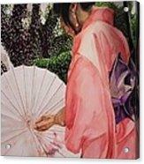 Japanese Based Acrylic Print by Kodjo Somana