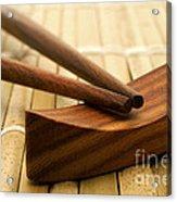 Japanese Chopsticks Acrylic Print