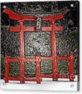 Japanese Garden Bbg Acrylic Print