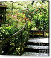 Japanese Garden Retreat Acrylic Print