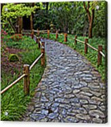Japanese Tea Garden Path Acrylic Print