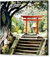 Japanese Tori Acrylic Print