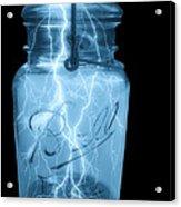 Jarred Lightning Acrylic Print