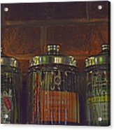 Jars Of Assorted Teas Acrylic Print