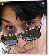Jasmin Star Acrylic Print