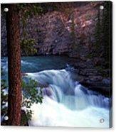 Jasper - Maligne Canyon Acrylic Print