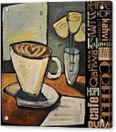 Java Coffee Languages Poster Acrylic Print