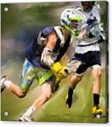 Jaxx Lacrosse 1 Acrylic Print