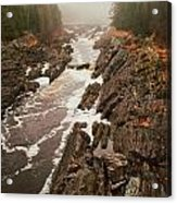 Jay Cooke Under Fog Acrylic Print