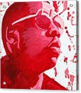 Jay-z Acrylic Print by Michael Ringwalt