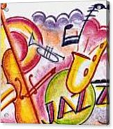 Jazz Deco Acrylic Print