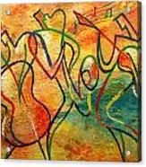 Jazz-funk Acrylic Print