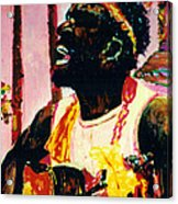 Jazz Musician Acrylic Print