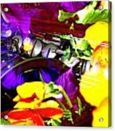Jazz The Color Of Sound Acrylic Print