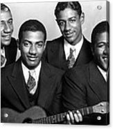 Jazz Vocal Quartet The Mills Brothers Acrylic Print by Everett