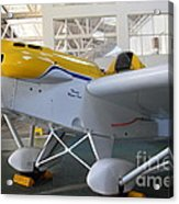 Jdt Mini Max 1600r . Eros . Single Engine Propeller Kit Airplane . 7d11169 Acrylic Print