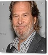 Jeff Bridges In Attendance For American Acrylic Print by Everett