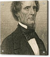 Jefferson Davis, President Acrylic Print