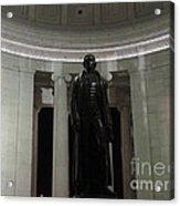 Jefferson In The Dark Acrylic Print